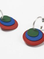 BYO 3 Disc Hoop Earrings