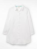Star Linen Beach Shirt