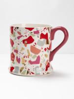 Terrazzo Red Mug