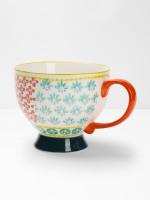 Decorative Flower Mug