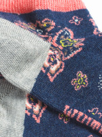 Paisley Trainer Socks 2 pack