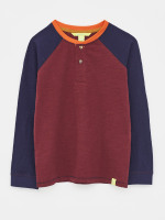 Colourblock Henry Henley Tee