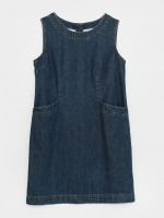 Lothbury Denim Pinafore Dress