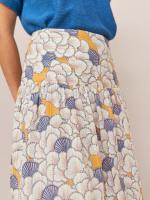 Ava Cotton Midi Skirt