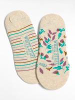 Floral Footsie 2 pack