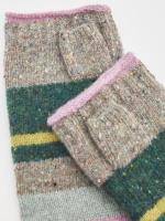 Aspen Fleck Fingerless Gloves