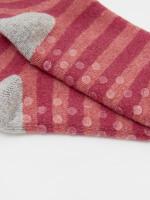 Cabin Loop Back Stripe Sock