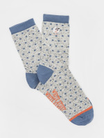 Embroidered Sheep Sock