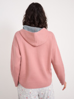 Ria Reversible Hooded Knit