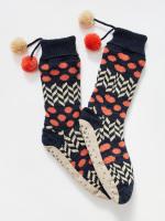 Patchwork Slipper Sock