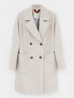 Herringbone DB Coat