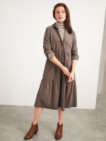 Florence Cord Shirt Dress