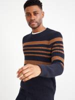 Corrdon Colourblock Stripe Crew