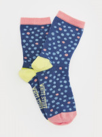 Poppy Spot Sock