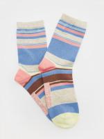 Floral Stripe Sock