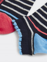Willow Stripe Trainer Sock