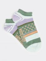 Neppy Stripe Trainer Sock