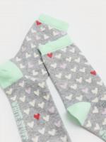 Amara Heart Sock