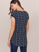 Geo Embroidered Tunic