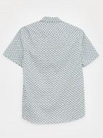Geo Boat Print Shirt