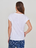 Nelly Notch Embroidered Tee