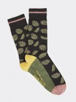 Tropical Leaf Sock