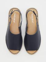 Roxanne Leather Flatform