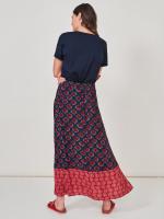 Ikat Crinkle Skirt