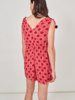 Ikat Crinkle Woven Playsuit