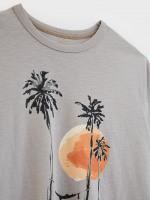 Sun Palm Organic Graphic Tee