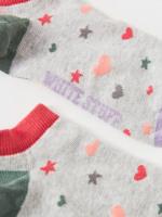 Heart & Star Trainer Sock