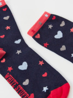 Heart & Star Sock