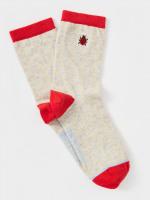 Ladybird Emb Sock