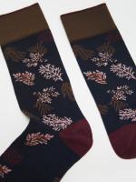Autumnal Leaves Sock