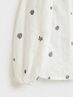 Mia Embroidered Cotton Shirt