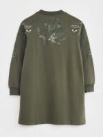 Maple Embroidered Tunic