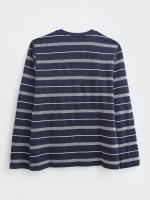 Jacquard Stripe Top