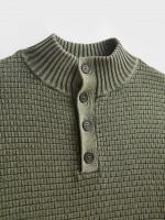 Clifton Cotton Button Neck