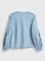 Delilah Emb Jersey Shirt
