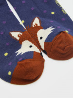 Forest Fox Trainer Sock
