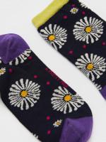 Daisy Print Sock