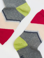 Abstract Mountain Sock