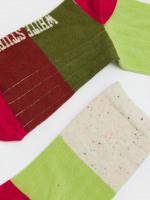 Grace Rib Colourblock Sock