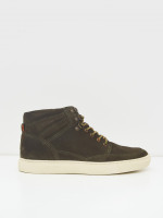 Woody Suede High Top Trainer