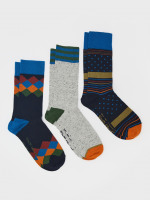 Cameron 3 Pack Socks