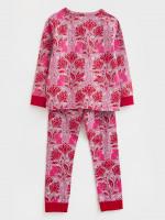 Mistletoe Cat Jersey PJ Set