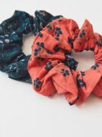 Organic Cotton 2 Pack Scrunchies