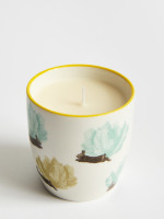 Mini Garden Leaves Candle