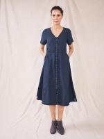 Ivy Linen Midi Dress
