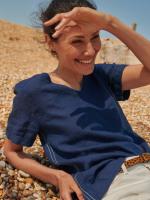 Edie Linen Top